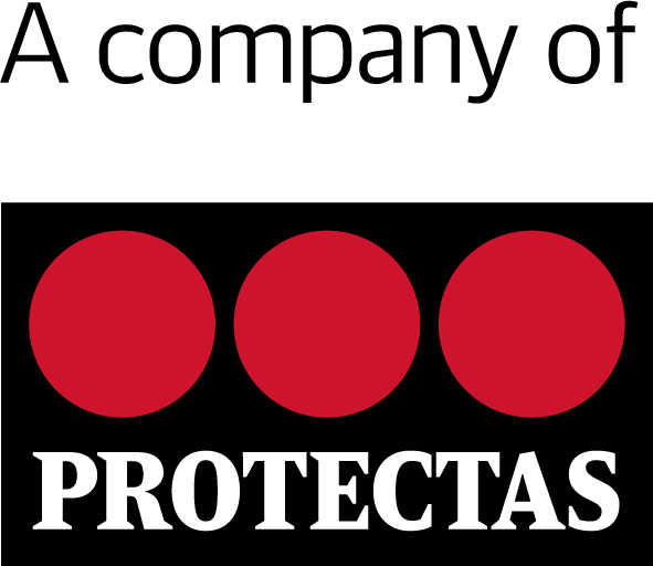 Protectas logo black